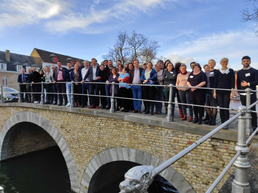 The members of the EUREKA consortium met for the official launch of the project from 27-29 January 2020 in Bruges, Belgium. © Mark Redman (Highclere Consulting SRL)