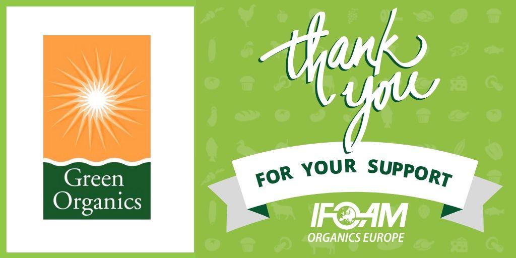 green organics main sponsor thank you