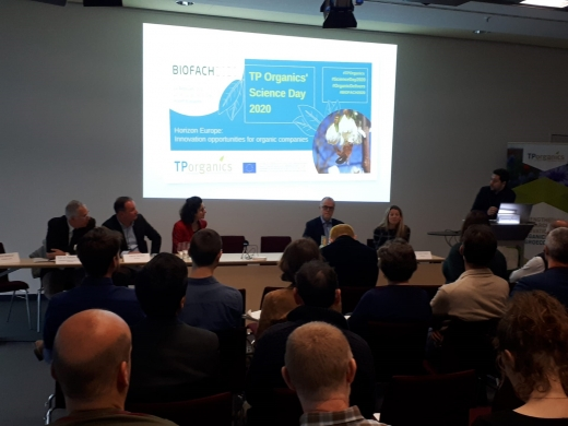 Panel discussion at TP Organics' Science Day 2020