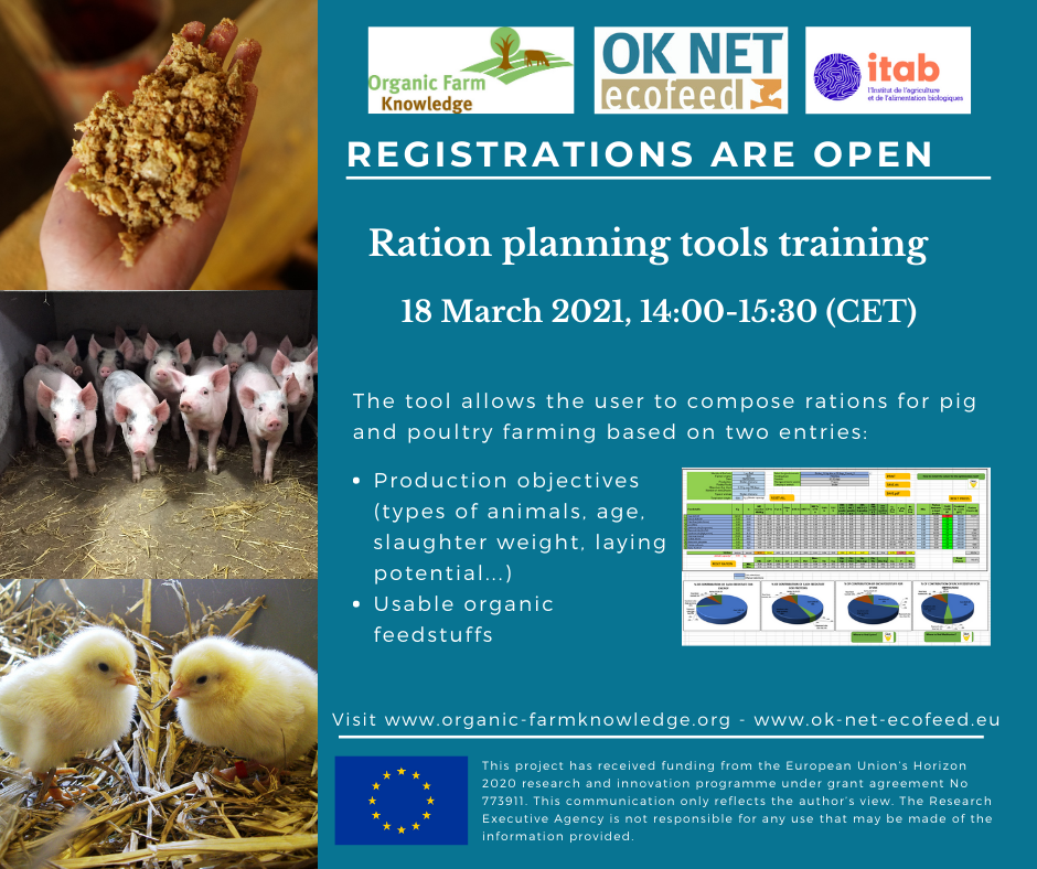 ok-net ecofeed itab organic farmknowledge ration planning tools training