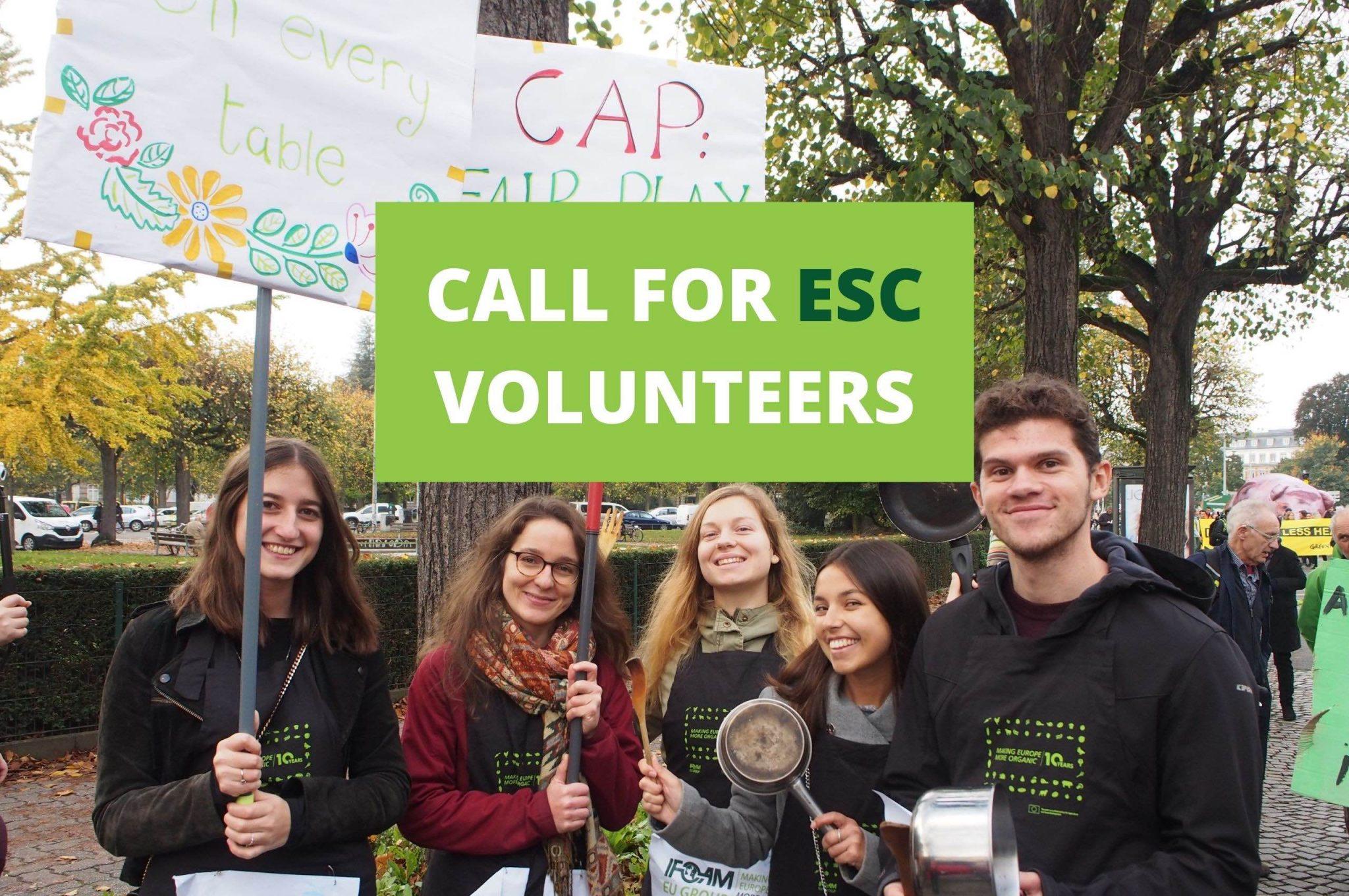 ifoam organics europe home page esc volunteers vacancies