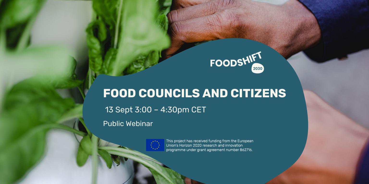 FoodSHIFT webinar on food system transformation