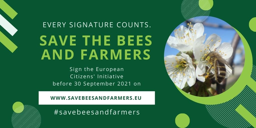 European Citizens' Initiative Save Bees and Farmers